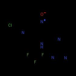 ChemSpider 2D Image | Seletalisib | C23H14ClF3N6O