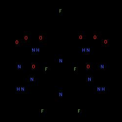 ChemSpider 2D Image | pibrentasvir | C57H65F5N10O8