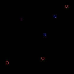 ChemSpider 2D Image | 6-Iodopravadoline | C23H25IN2O3