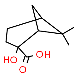 ChemSpider 2D Image | 2-Hydroxy-6,6-dimethylbicyclo[3.1.1]heptane-2-carboxylic acid | C10H16O3