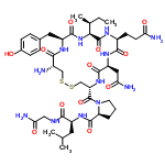 ChemSpider 2D Image | Oxytocin | C43H66N12O12S2