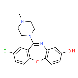 ChemSpider 2D Image | 8-Hydroxyloxapine | C18H18ClN3O2