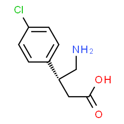 ChemSpider 2D Image | Arbaclofen | C10H12ClNO2