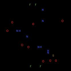 ChemSpider 2D Image | voxilaprevir | C40H52F4N6O9S