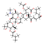 ChemSpider 2D Image | Carbomycin | C42H67NO16