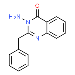 ChemSpider 2D Image | 3-Amino-2-benzyl-4(3H)-quinazolinone | C15H13N3O