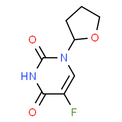 ChemSpider 2D Image | Tegafur | C8H9FN2O3