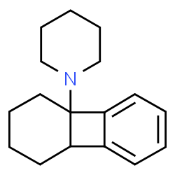 ChemSpider 2D Image | 1-(1,3,4,8b-Tetrahydro-4a(2H)-biphenylenyl)piperidine | C17H23N