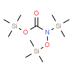 ChemSpider 2D Image | Trimethylsilyl trimethylsilyl[(trimethylsilyl)oxy]carbamate | C10H27NO3Si3