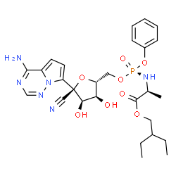 ChemSpider 2D Image | remdesivir | C27H35N6O8P