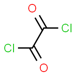 ChemSpider 2D Image | Oxalyl chloride | C2Cl2O2