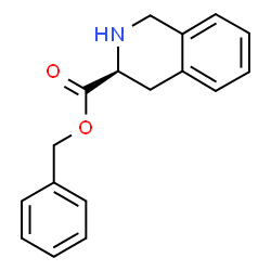 ChemSpider 2D Image | Benzyl-(3S)-1,2,3,4-tetrahydroisochinolin-3-carboxylat | C17H17NO2