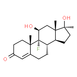 ChemSpider 2D Image | fluoxymesterone | C20H29FO3