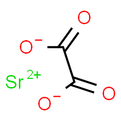 ChemSpider 2D Image | Strontium oxalate | C2O4Sr
