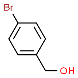 ChemSpider 2D Image | 4-Bromobenzyl alcohol | C7H7BrO