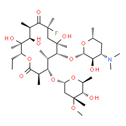 ChemSpider 2D Image | Flurithromycin | C37H66FNO13