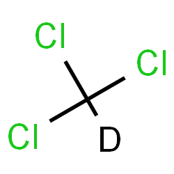 ChemSpider 2D Image | Deuterated chloroform | CDCl3