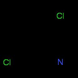 ChemSpider 2D Image | 4,7-Dichloroquinoline | C9H5Cl2N