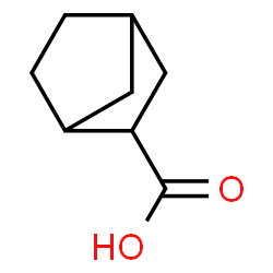 ChemSpider 2D Image | Bicyclo[2.2.1]heptane-2-carboxylic acid | C8H12O2
