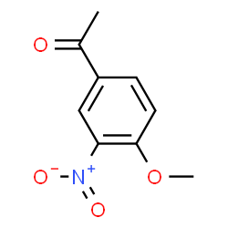 ChemSpider 2D Image | 4-Acetyl-2-nitroanisole | C9H9NO4