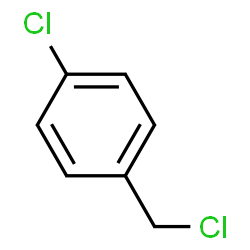 ChemSpider 2D Image | 4-Chlorobenzyl chloride | C7H6Cl2