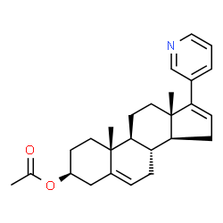 ChemSpider 2D Image | Abiraterone acetate | C26H33NO2