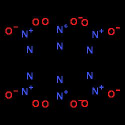 ChemSpider 2D Image | HNIW | C6H6N12O12