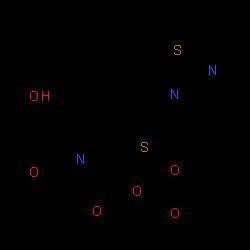 ChemSpider 2D Image | tebipenem pivoxil | C22H31N3O6S2