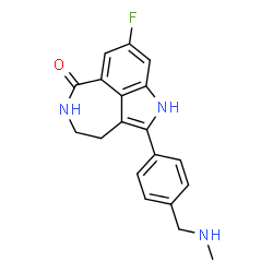 ChemSpider 2D Image | Rucaparib | C19H18FN3O