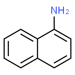 ChemSpider 2D Image | naphthylamine | C10H9N