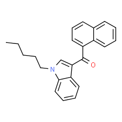 ChemSpider 2D Image | JWH-018 | C24H23NO