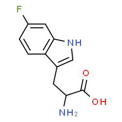 ChemSpider 2D Image | 6-Fluorotryptophan | C11H11FN2O2