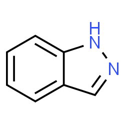 ChemSpider 2D Image | Indazole | C7H6N2