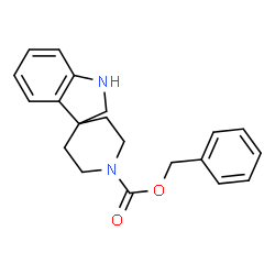 ChemSpider 2D Image | Benzyl 1,2-dihydro-1'H-spiro[indole-3,4'-piperidine]-1'-carboxylate | C20H22N2O2