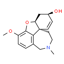 ChemSpider 2D Image | (-)-Galanthamine | C17H21NO3