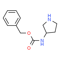 ChemSpider 2D Image | Benzyl 3-pyrrolidinylcarbamate | C12H16N2O2
