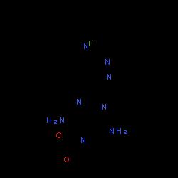 ChemSpider 2D Image | Riociguat | C20H19FN8O2