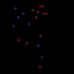 ChemSpider 2D Image | Fostemsavir | C25H26N7O8P