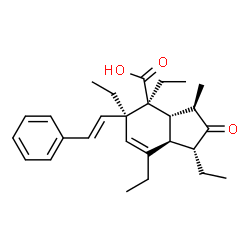 ChemSpider 2D Image | isospiculoic acid A | C27H36O3