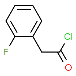 2-Fluorophenyl)acetyl chloride | C8H6ClFO | ChemSpider