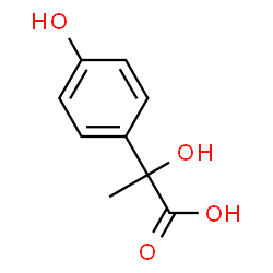 ChemSpider 2D Image | 4-Hydroxyphenyllactic acid | C9H10O4