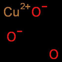 chemspider 2d image | copper(ii) carbonate | ccuo3