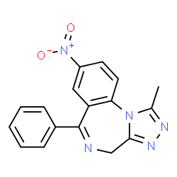 ChemSpider 2D Image | NITRAZOLAM | C17H13N5O2
