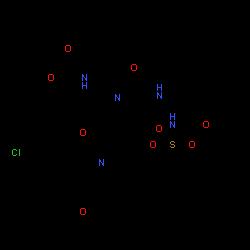 ChemSpider 2D Image | Asunaprevir | C35H46ClN5O9S