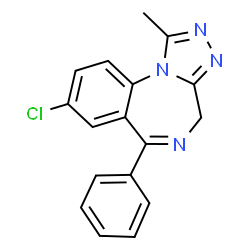 Alprazolam | C17H13ClN4 | ChemSpider