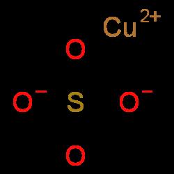Copper(II) sulfate | CuO4S | ChemSpider