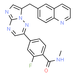 ChemSpider 2D Image | Capmatinib | C23H17FN6O