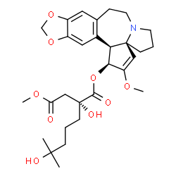 ChemSpider 2D Image | Omacetaxine mepesuccinate | C29H39NO9