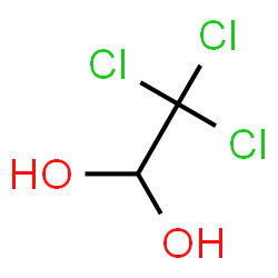 ChemSpider 2D Image | Chloral hydrate | C2H3Cl3O2