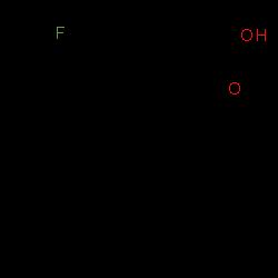 ChemSpider 2D Image | [(1Z)-5-Fluoro-1-(4-isopropylbenzylidene)-2-methyl-1H-inden-3-yl]acetic acid | C22H21FO2